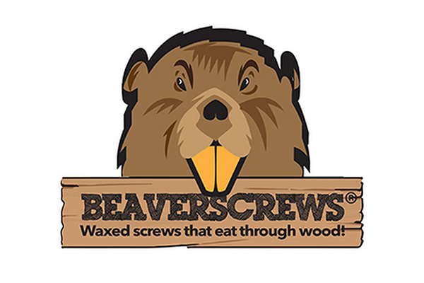 The Beaver screws Logo